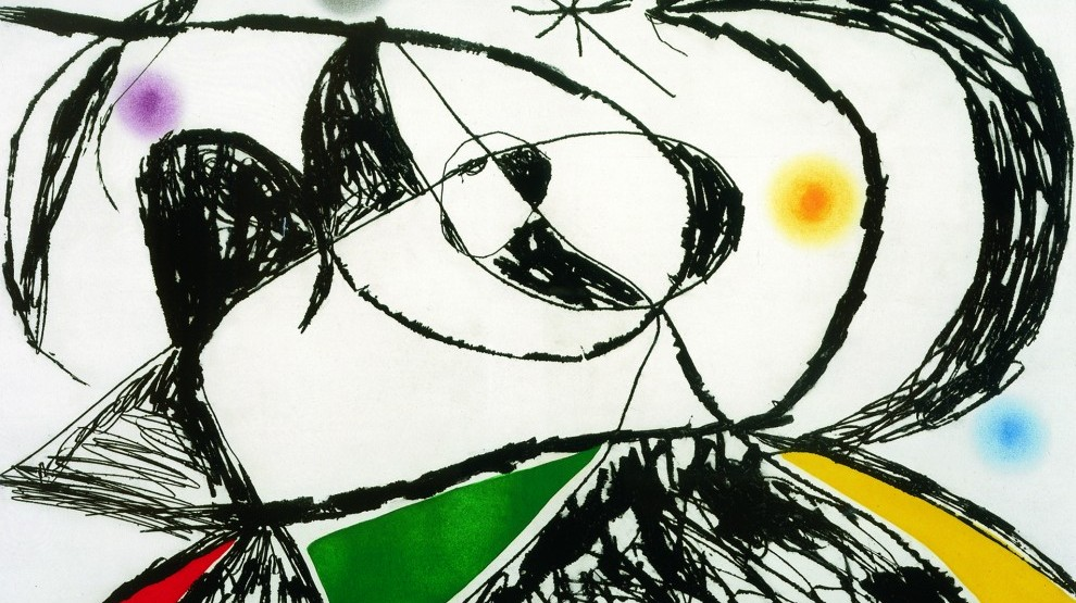 JOAN MIRÓ From The Collection of The Kreeger Museum Opens January 21